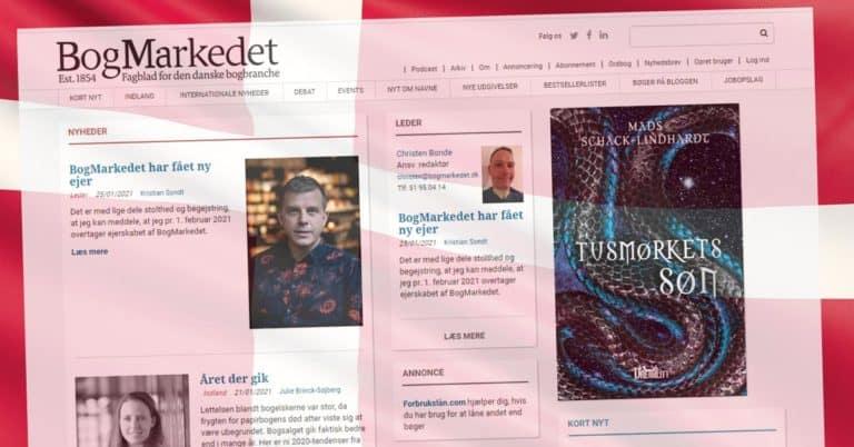 Danska branschtidningen Bogmarkedet får ny ägare