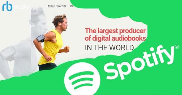 Rykte: Spotify vill köpa RBmedia för att erbjuda abonnemang med ljudböcker i USA