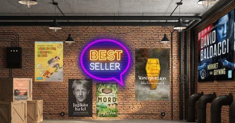 Topplista böcker – vecka 2 – 2021: De mest sålda i Sverige