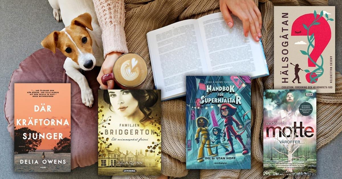 Topplista böcker månad januari 2021