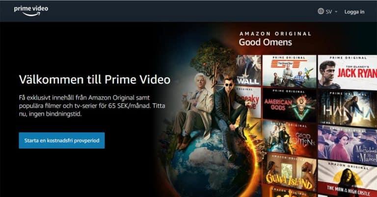 Amazon ökar marknadsföringen av Prime Video – när kommer vanliga Prime?