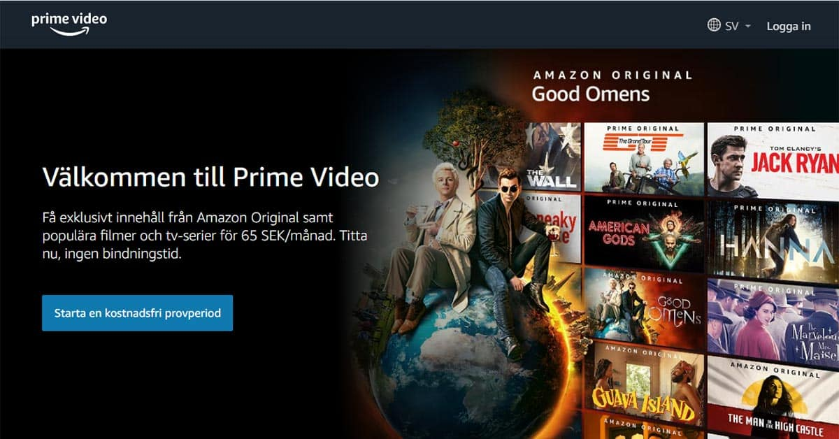 Amazon Prime Video Sverige