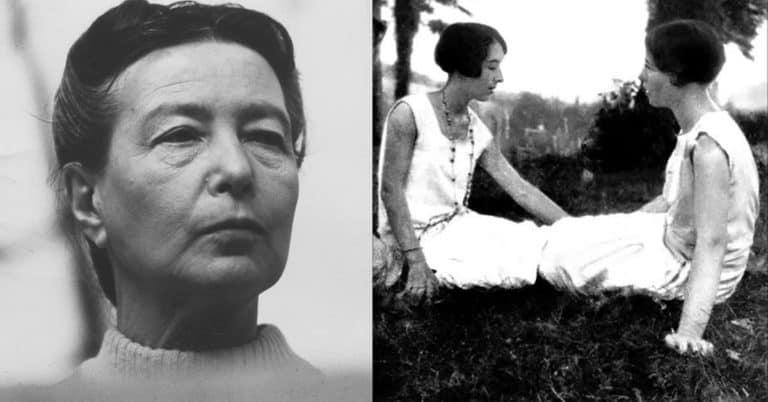 """Roman av Simone de Beauvoir """"Hon blev avrättad av sin miljö"""""""
