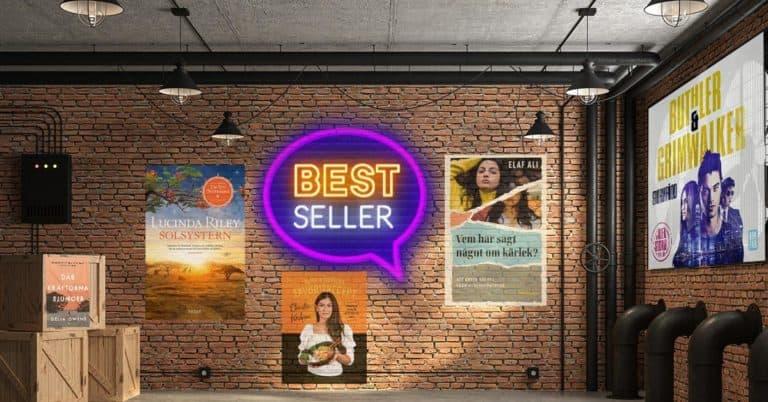 Topplista böcker – vecka 14 – 2021: De mest sålda i Sverige