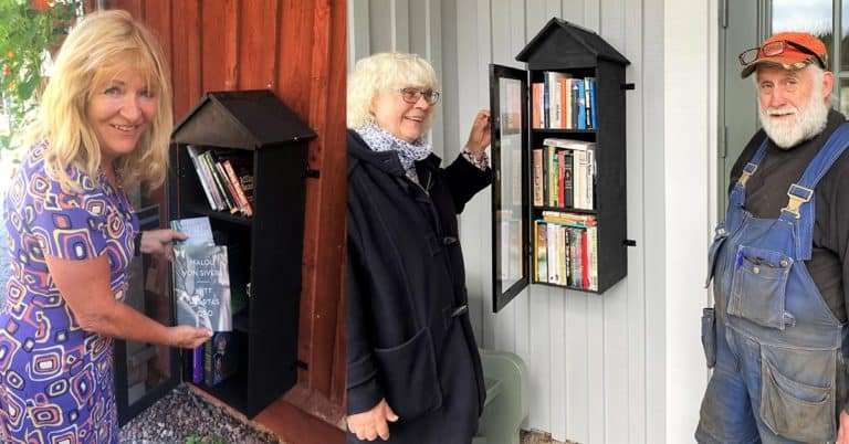 Bokskåp i Dalsland
