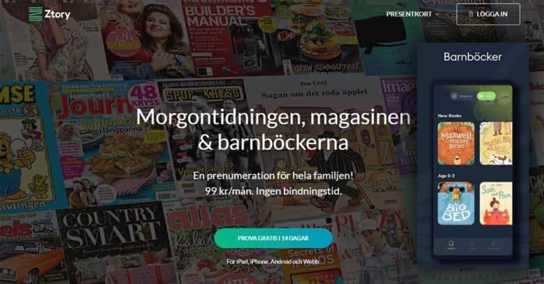 Storytel lägger ner tidningsappen Ztory efter två år