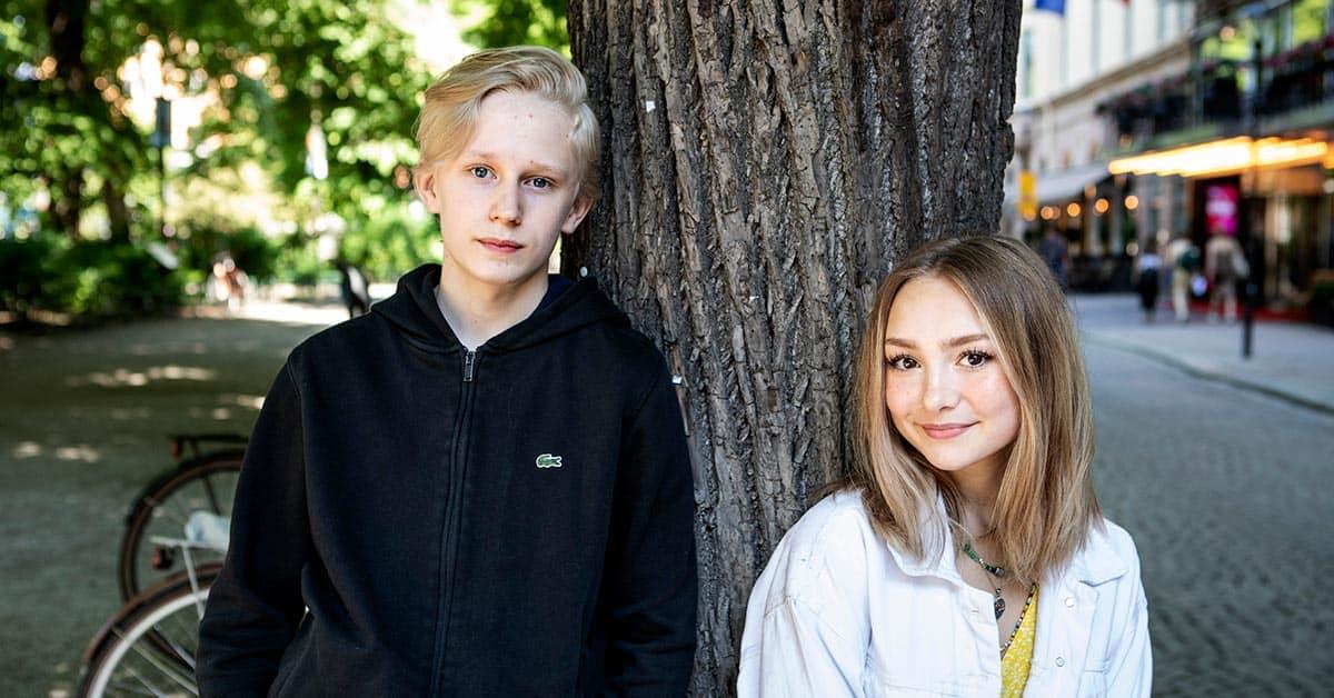 Elis Gerdt och Lily Wahlsteen, Sune och Sophie