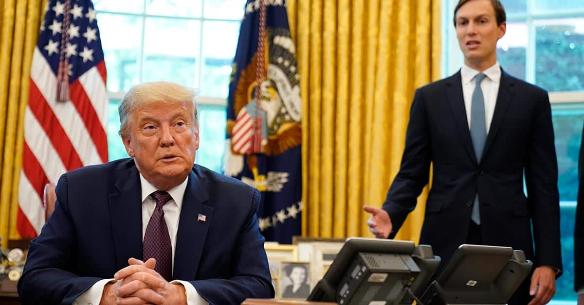 Jared Kushner bok Donald Trump