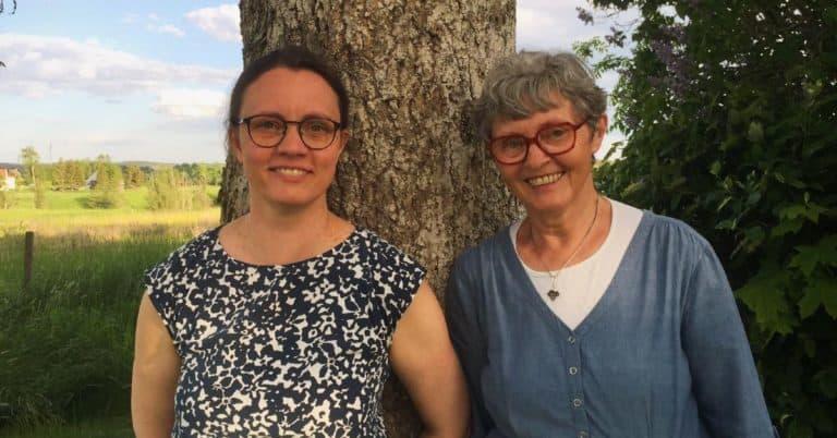 Mor och dotter Holtti skrev en gemensam roman under coronakarantänen