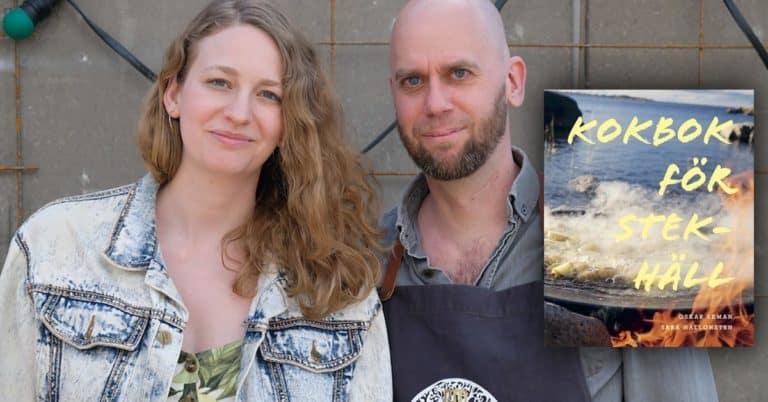 Succé med kokbok för stekhäll – Oskar och Sara säljer tusentals ex via egen webbshop