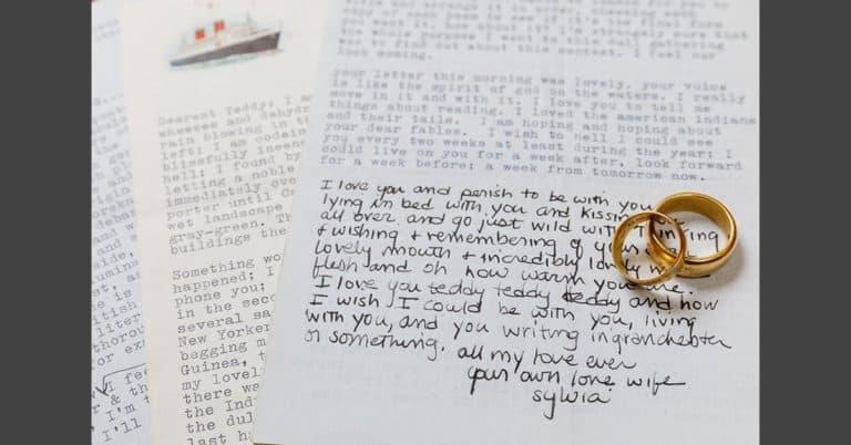 Sylvia Plaths kärleksbrev såldes på auktion för 9,5 miljoner kr