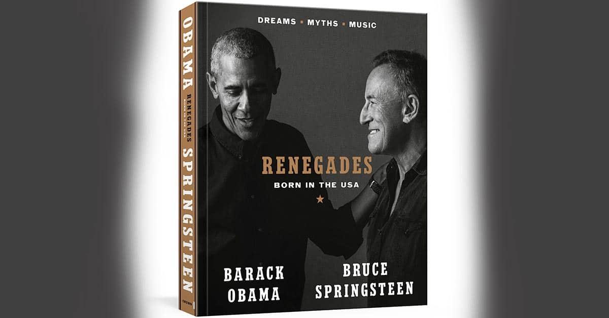 Barack Obamas och Bruce Springsteen bok