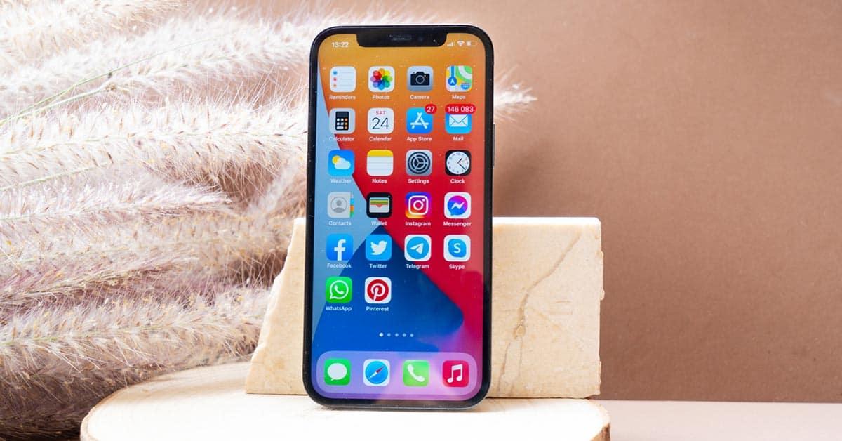 Apple iPhone 12 ljudboksapp