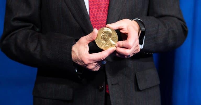 Nobelpris medalj