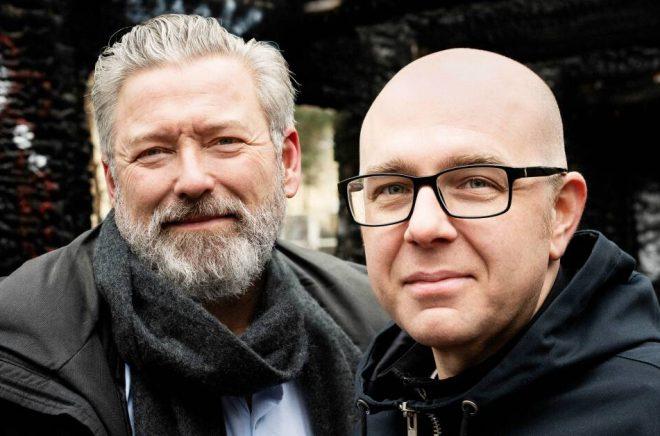 Johan Kant och Anders Gustafson. Foto: Eva Lindblad