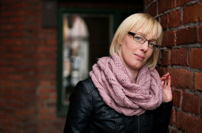 Författaren Anna Jakobsson Lund. Foto: Petra Berggren