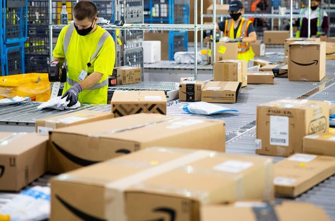 Amazon fortsätter växa, på väg mot 1000 miljarder i omsättning - under ett kvartal. Foto: Amazon/pressbild.