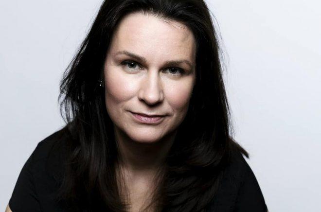Åsa Erlandsson nomineras till Stora journalistpriset för sin bok Det som aldrig fick ske. Foto: Göran Segeholm