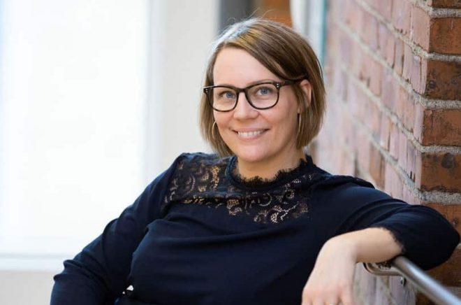 Sara H. Olsson. Foto: Johanna Nolsa