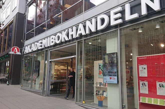 Flaggskeppsbutiken på Mäster Samuelsgatan i Stockholm. Foto: Sölve Dahlgren.