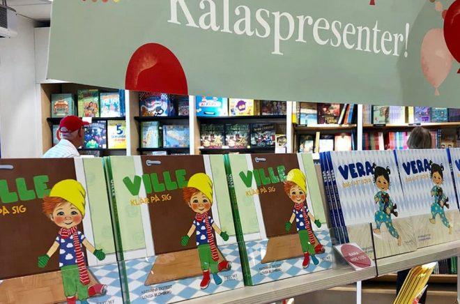 När den nya barnboksserien Ville & Vera lanseras så sker det exklusivt i Akademibokhandelns butiker de första sex månaderna.