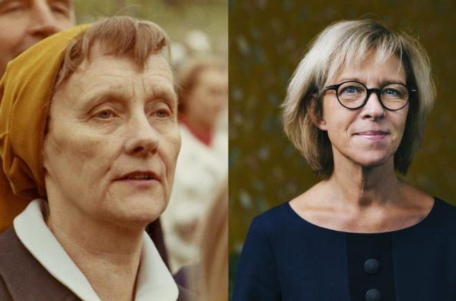 Astrid Lindgren och Ann Sköld/Astrid Lindgren-konferensen.