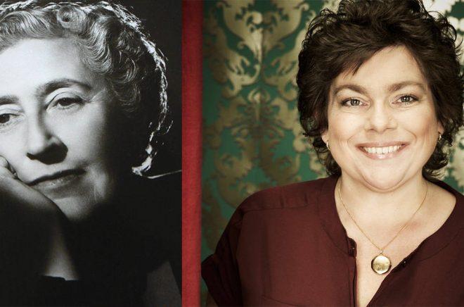 Agatha Christie är en förebild för deckarförfattaren Kristina Appelqvist .