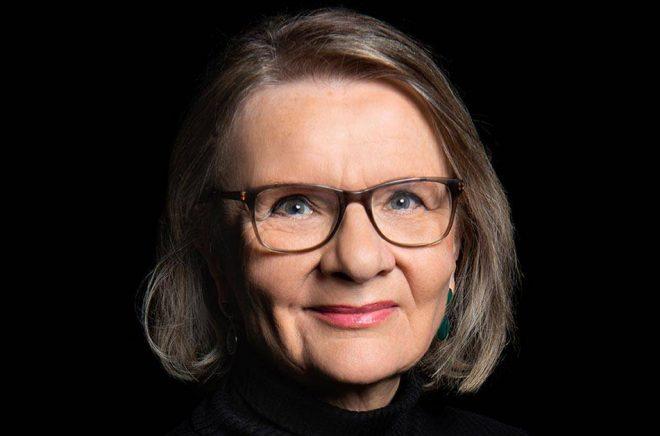 Aino Trosell är en av de författare som får 50 000 kronor av Svenska Akademien under 2020. Foto: Lisa Jabar.