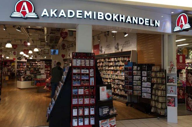 Akademibokhandeln Jägersro stängdes i maj 2017.