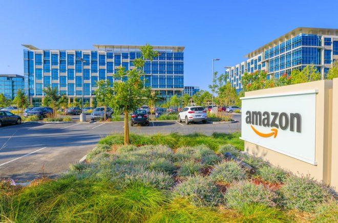 Ett av Amazons kontor, i Sunnyvale, Kalifornien, där de bland annat har utvecklingsavdelning och ett par tusen anställda. Foto: iStock.