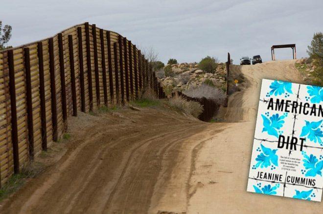 Gränsen mellan Mexiko och USA bevakas hårt, inte minst i Kalifornien. Den kontroversiella boken American Dirt har väckt heta känslor i USA. Bakgrundsfoto: iStock. Montage: Boktugg.