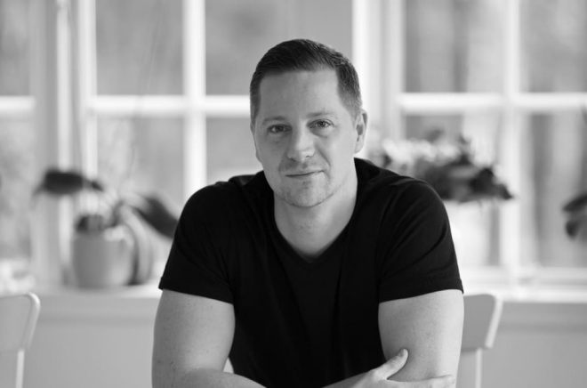 Andreas Ek, en av finalisterna till Selmapriset 2019. Foto: Bee Thalin