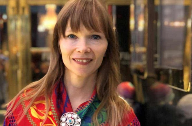 Författaren Ann-Helén Laestadius. Foto: Privat pressbild.