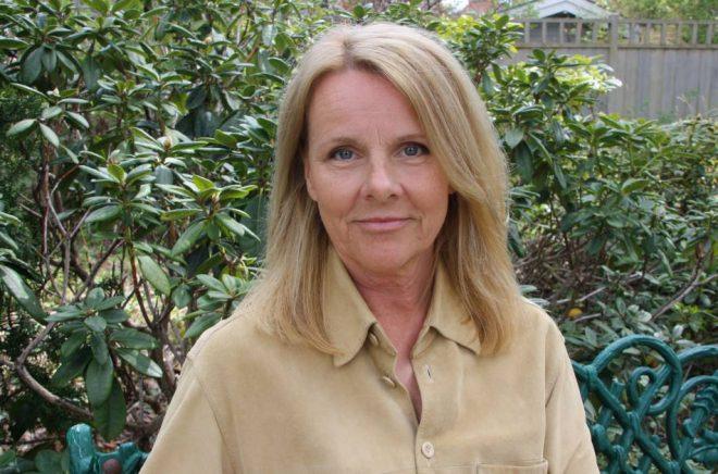 Författaren Anna Bråtenius. Foto: Pressbild