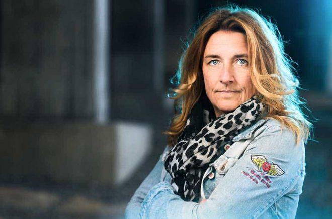 Författaren Anna Granlund. Foto: Stefan Tell.