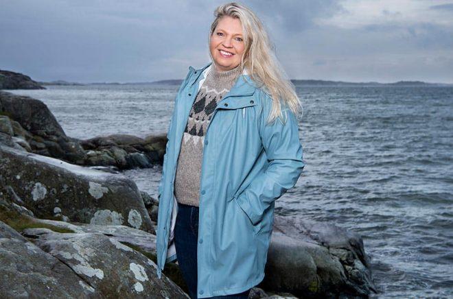 Författaren Anna Ihrén skriver en multideal med ljudboksförlaget WAPI som omfattar mer än 40 utgivningar i elva länder. Foto:  Lisa Jabar.