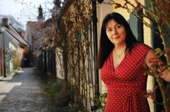 Författaren Anna Jansson. Foto: Marianne Westerlund.