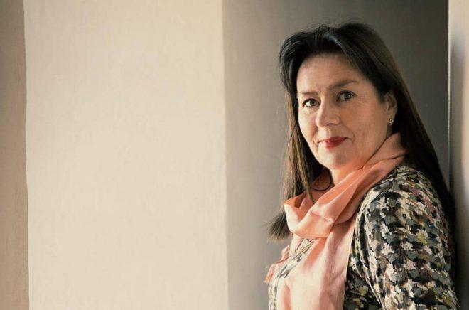 Författaren Anna Jansson. Fotograf: Leif Hansen.