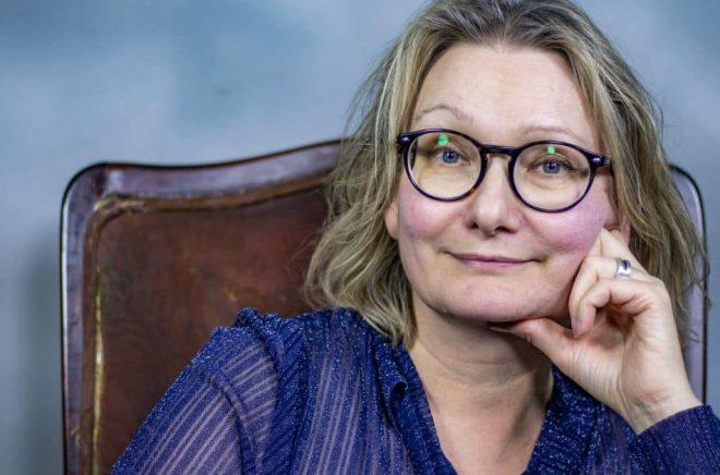 Anna-Karin Kask, dramapedagog och författare. Foto: Anita Blomqvist