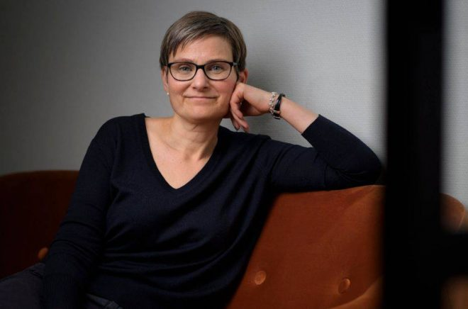 Anna Larsson. Foto: Stefan Tell