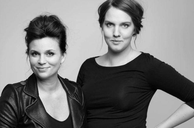 Författarna Annakarin Nyberg och Clara LIdström har bytt förlag till The Book Affair för sin nya barnbokserie. Foto: Pressbild.