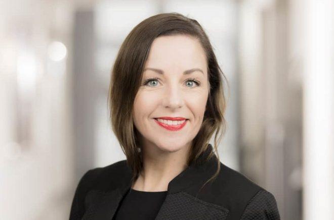 Annica Andersson, Bokmässans nya redaktör med inriktning mot skola och bibliotek. Foto: Ola Kjelbye