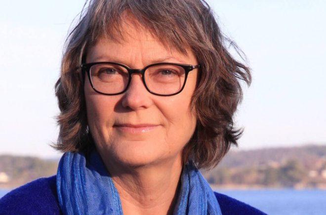 Författaren Annika Bengtsson fick kritikstöd från Region Halland 2018 för sin roman Såren som aldrig läker. Foto: Joanna Björkqvist
