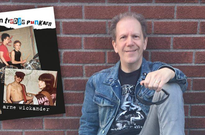 Författaren Arne Wickander vann Selmapriset 2019 för sin bok den tredje punkarn.