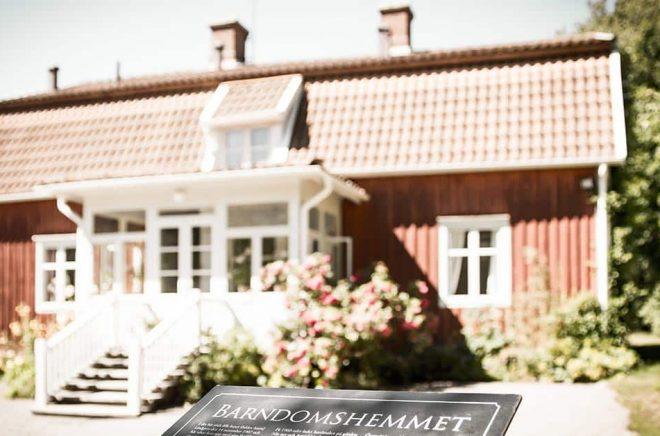 Astrid Lindgrens barndomshem Näs i Vimmerby. Foto: Astrid Lindgrens Näs.