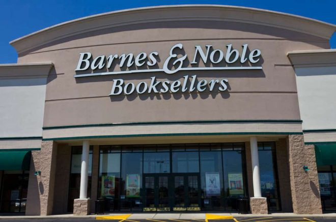 Barnes & Noble, butik i Indianapolis. Foto: iStock.