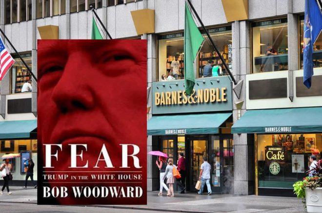 Den nya boken Fear om Donald Trump har blivit en bästsäljare, bland annat på Barnes & Noble. Foto: iStock.
