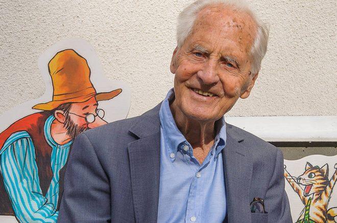 Förläggaren Bengt Christell gick bort i december 2017. Nu instiftas ett bilderbokspris till hans minne. Foto: Opal förlag.