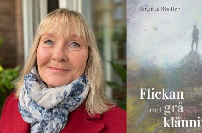 Birgitta Stiefler debuterar med boken Flickan med grå klänning. Foto: Privat