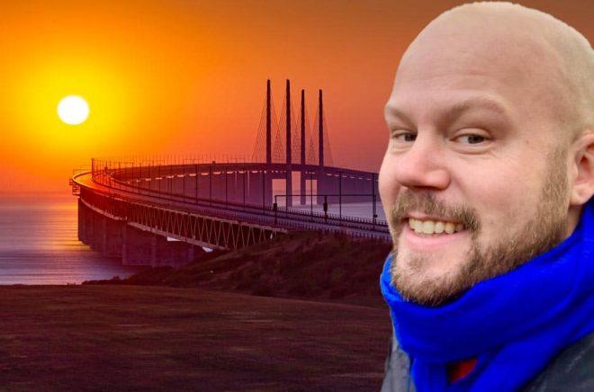 Björn Gadd (foto: privat) lämnar svenska Bokfabriken för att jobba på danska Saga Egmont i Köpenhamn. Bakgrundsfoto: iStock.